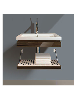 Duravit 2nd Floor Trim With Shelf And Basin - 2F640505959