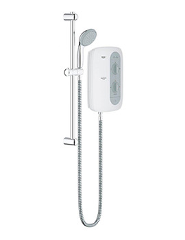 New Tempesta 100 Nighttime Grey Electric Shower 9.5 kW-26179000