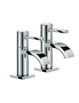 Wave Basin Taps Pair Chrome - RDL001
