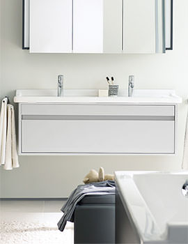 Duravit Ketho 1150mm 1 Drawer Unit With D-Code Double Basin