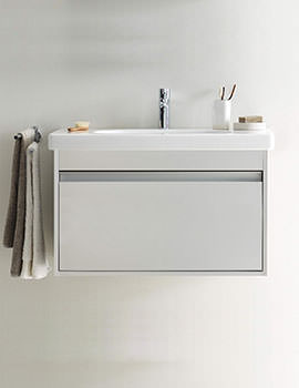 Duravit Ketho 650mm 1 Drawer Unit With 700mm Starck 3 Basin