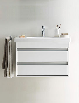 Duravit Ketho 650mm 2 Drawers Unit With 700mm Starck 3 Basin