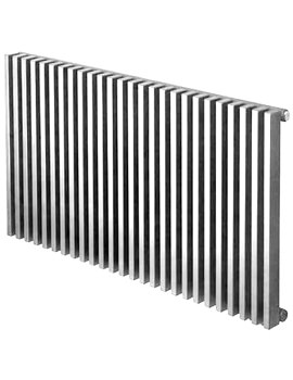 Bassano Horizontal Single 800 x 600mm Designer Radiator White