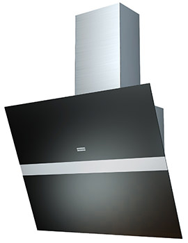 Swing 900mm FSW 918 TC W BK XS-CH V2 Black Kitchen Hood