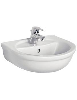 Ideal Standard Alto 450mm 1 Taphole Handrinse Basin - E742501