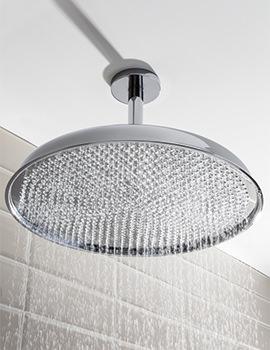Crosswater Belgravia Chrome Fixed Shower Head 450mm - FH18C