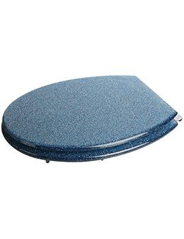 Blue Glitter Toilet Seat - WL101024