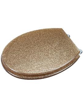 Gold Glitter Toilet Seat - WL134103
