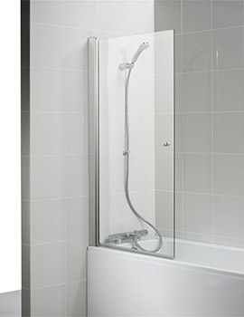 Create 880 - 900 x 1500mm Rectangular Shower Bath Screen