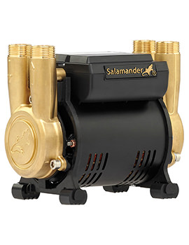 Salamander CT FORCE 15 PT 1.5 Bar Twin Brass Ended Positive Head Shower Pump