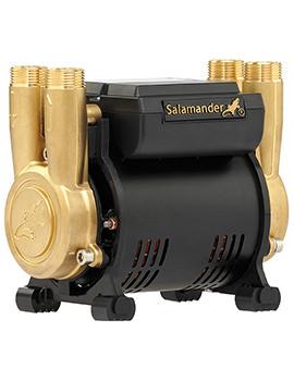 Salamander CT FORCE 20 PT 2.0 Bar Twin Brass Ended Positive Head Shower Pump