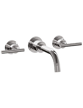 Related Jado New Haven Trim For 3 Hole Concealed Wall Mounted Basin Mixer Tap