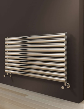 Reina Artena Single Stainless Steel Radiator 1000 x 590mm