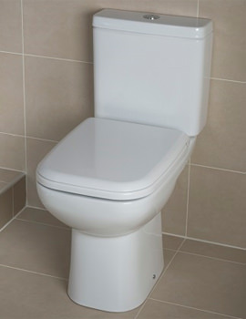 Related RAK Origin 62 Close Coupled WC Pack With Soft Close Seat