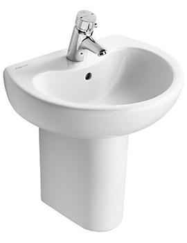 Armitage Shanks Contour 21 Splash 500mm 1 Taphole Basin - S269001