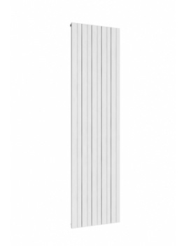 Reina Bova Vertical Single Aluminium Radiator 375 x 1800mm