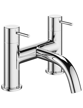 Mike Pro Chrome Deck Mounted Bath Filler Tap