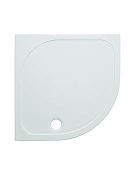 Quadrant 45mm Stone Resin Low Level Tray 900mm SR000Q900