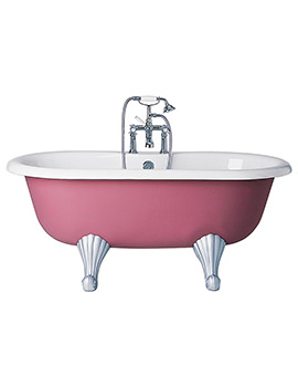 Sottini Pergola Idealcast Roll Top Bath 1500 x 760mm - E566101