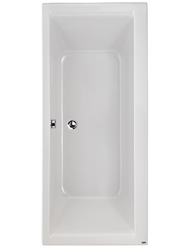 Athena Acrylic Double Ended No Tap Hole 1700 x 750mm Bath