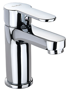 Twyford X50 Mono Basin Mixer Tap With Click Clack Waste