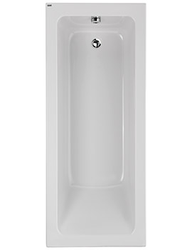Aspect Acrylic Single Ended No Tap Hole 1700 x 700mm Bath