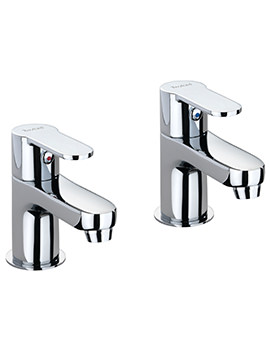 X50 Pair Of Bath Pillar Taps - X505215CP