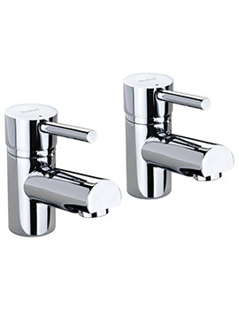 X60 Pair Of Basin Pillar Taps - X605205CP