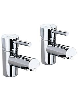 X60 Pair Of Basin Pillar Taps - X605205CP