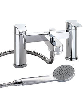 X50 Deck Mounted Bath Shower Mixer Tap - X505265CP