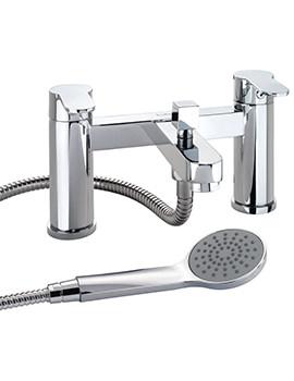 X50 Deck Mounted Bath Shower Mixer Tap - X505265CP