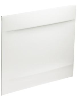 Twyford Callisto Galerie 700mm White Bath End Panel - GN7122WH