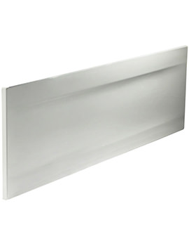Callisto Galerie White 510mm Height Front Bath Panel