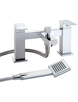 Twyford X62 Deck Mounted Bath Shower Mixer Tap - X625265CP
