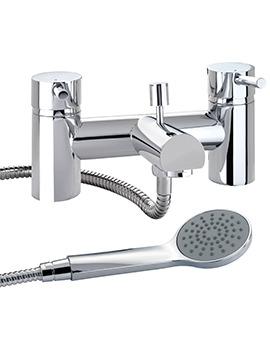 X60 Deck Mounted Bath Shower Mixer Tap - X605265CP