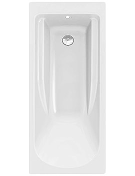 Twyford All 1700 x 750mm No Tap Hole Rectangular Bath - TA8500WH