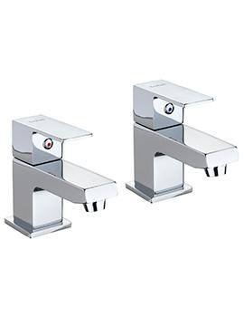 X62 Pair Of Basin Pillar Taps - X625205CP