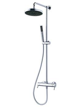 Unichrome Thames Thermostatic Bar Diverter Shower And Kit
