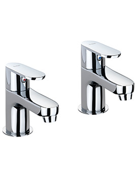 X70 Pair Of Basin Pillar Taps - X705205CP