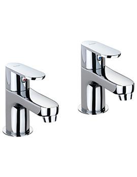 X70 Pair Of Basin Pillar Taps - X705205CP