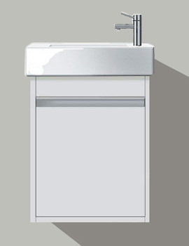 Ketho Single Door Vanity Unit With Vero 500mm Basin