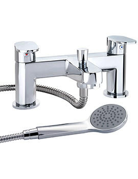 X70 Deck Mounted Bath Shower Mixer Tap - X705265CP