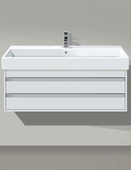 Ketho 550mm 2 Drawers Unit With Vero 600mm Basin