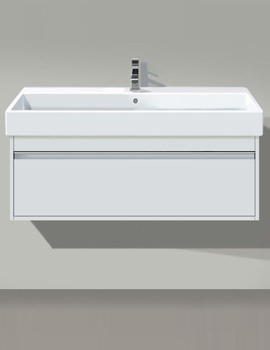 Ketho 550mm 1 Drawer Unit With Vero 600mm Basin