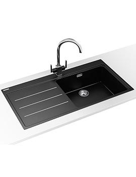 Mythos Fusion Designer Pack MTF 611 Fragranite Onyx Sink And Tap