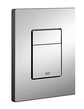 Skate Cosmo Dual WC Flush WC Wall Plate Chrome - 38732000