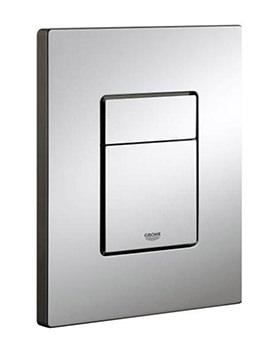Skate Cosmo Dual WC Flush WC Wall Plate Chrome - 38732000