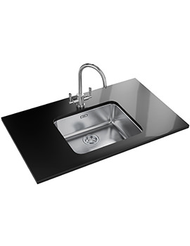 Largo Designer Pack LAX 110 50-41 Stainless Steel Sink And Tap