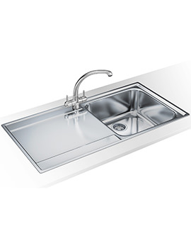 Maris Slim-Top Propack MRX 211 Stainless Steel Sink And Tap