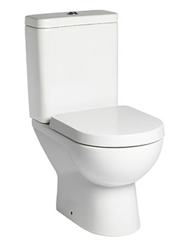 Micra Short Projection WC With Cistern And Seat - P100S